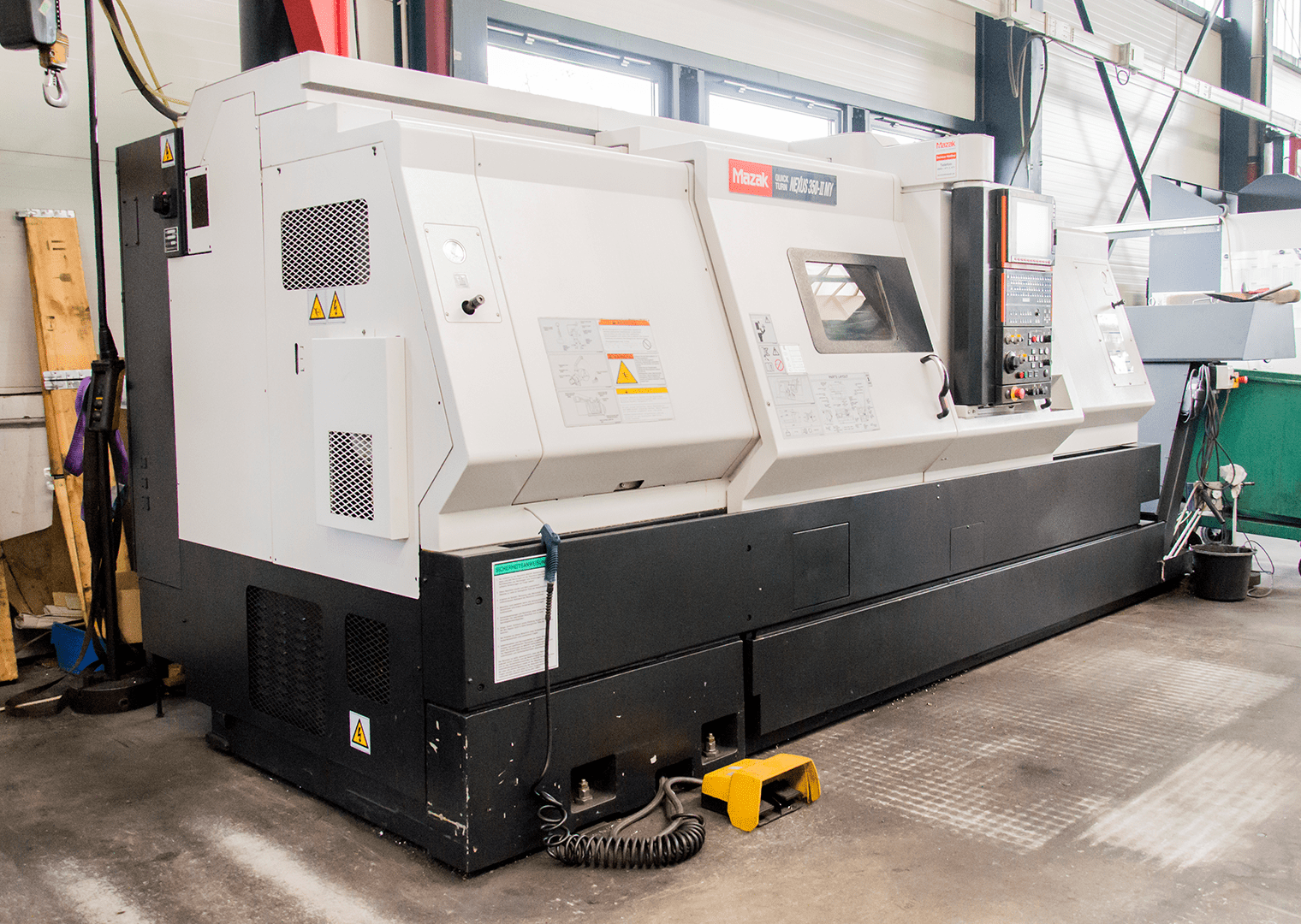 Mazak Nexus QTNX 350 My x 1500mm