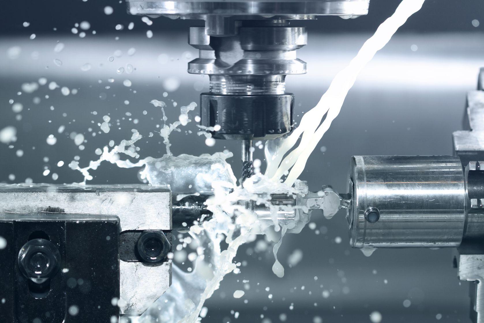 CNC Bohren Lohnfertigung
